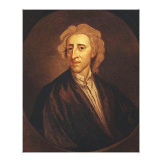 John Locke pelo senhor Godfrey Kneller Impressão Em Tela