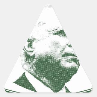 John McCain Adesivo Triangular