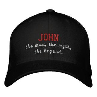 John o homem, o mito, a legenda boné bordado