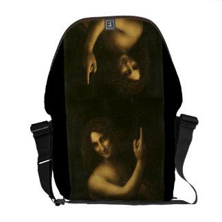 John The Baptist - Leonardo da Vinci (1513-1516) Bolsas Mensageiro
