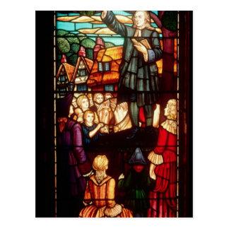 John Wesley que Preaching os evangelho em Cartão Postal