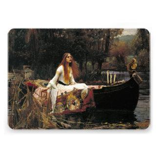 John William Waterhouse a senhora Shalott 1888