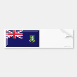 Jóia da bandeira de British Virgin Islands Adesivo