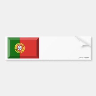 Jóia da bandeira de Portugal Adesivos