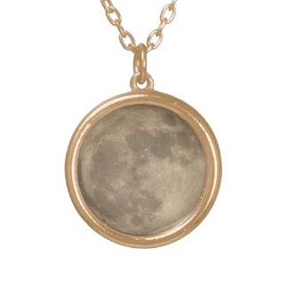 Jóia Pendent da colar da Lua cheia da colar da lua