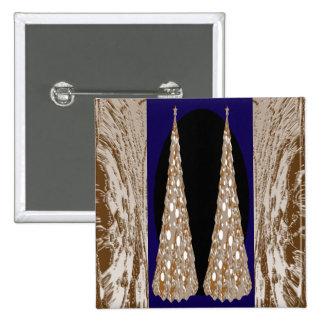 Jóias decorativas do de alta energia bóton quadrado 5.08cm