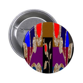 Jóias decorativas do de alta energia bóton redondo 5.08cm