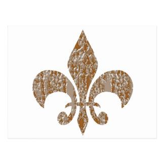 Jóias douradas Sparkling criadas artista de NOVINO Cartão Postal