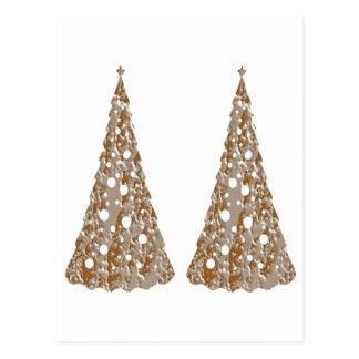 Jóias douradas Sparkling criadas artista de NOVINO Cartoes Postais