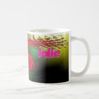 Jolie personalizou a caneca de café de Colorfull