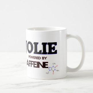 Jolie pôr pela cafeína canecas