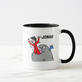 Jonah e a caneca da baleia