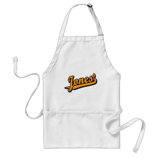 Jones na laranja avental