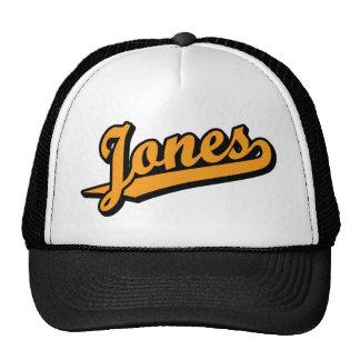 Jones na laranja boné