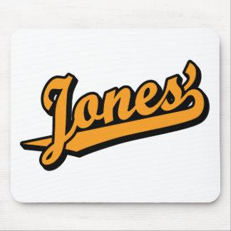 Jones na laranja mouse pad