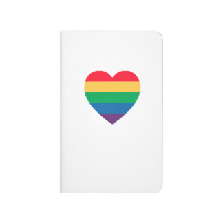 Jornal do bolso do orgulho do coração do arco-íris