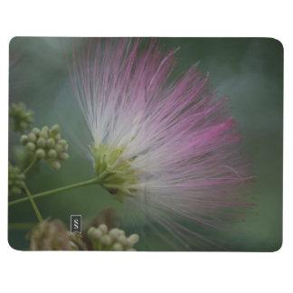 Jornal floral do bolso do Wildflower do rosa da