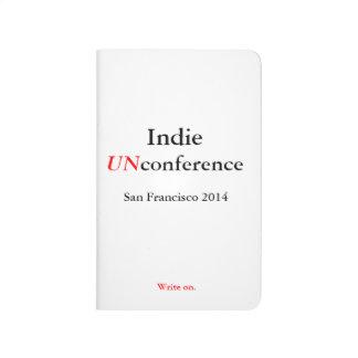 Jornal Indie do bolso de UnConference - escreva
