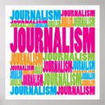 Jornalismo colorido pôsteres