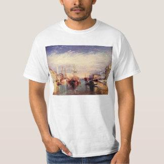 Joseph Mallord Turner - Veneza do patamar de M T-shirts