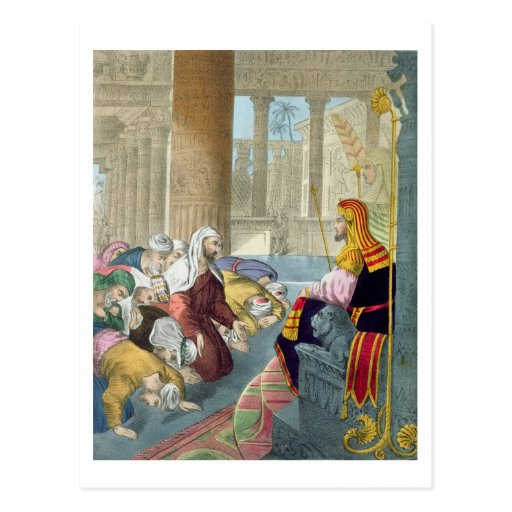 Joseph que recebe a homenagem de seus irmãos, de cartao postal