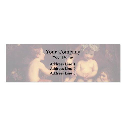 Joshua Reynolds a academia infantil Modelo Cartão De Visita