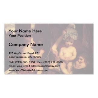 Joshua Reynolds a academia infantil Cartao De Visita