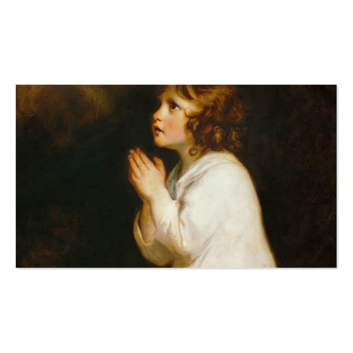 Joshua Reynolds o Samuel infantil Modelo Cartao De Visita