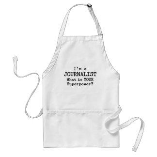 journalista avental
