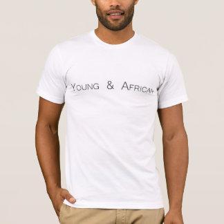 Jovens & africano camiseta