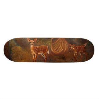 Jovens corças shape de skate 20,6cm