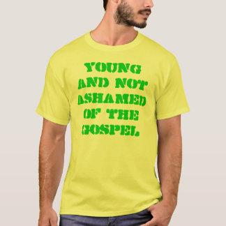 Jovens e nao humilhado do evangelho camiseta
