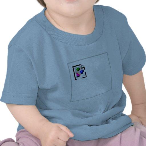 JPEG quebrado do GIF do png do JPG da imagem T-shirt