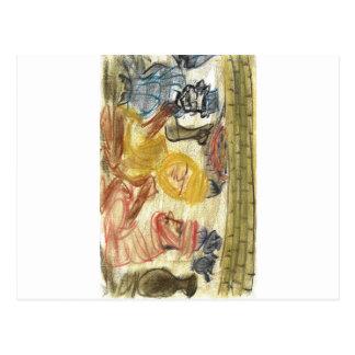 Judah de Mediterrania Cartão Postal