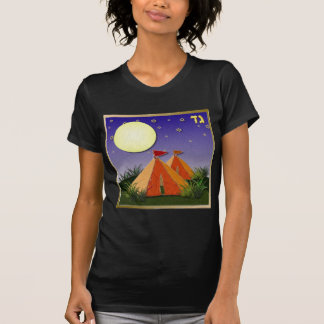 Judaica 12 tribos de Gad de Israel Camisetas