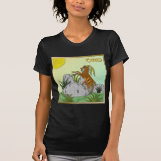 Judaica 12 tribos Israel Naphtali Camiseta