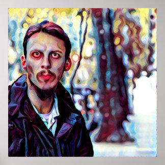 Judeu do zombi pôster