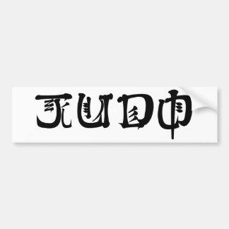 Judo Adesivo Para Carro