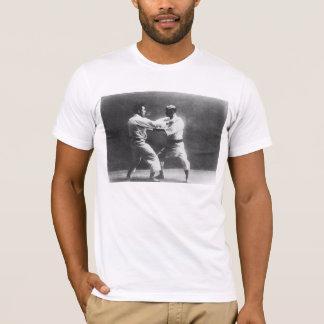 Judo de Judoka Jigoro Kano Kyuzo Mifue do japonês Camiseta