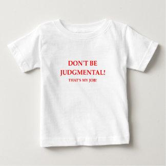 juiz camiseta para bebê