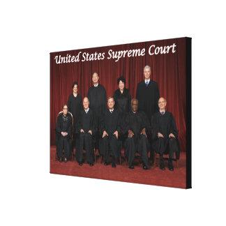 Juizes do Tribunal Supremos dos Estados Unidos Impressão Em Tela