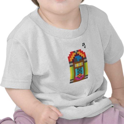 Jukebox do pixel camiseta