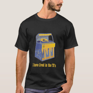 Jukebox retro camiseta