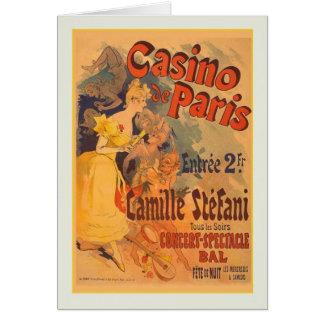 Jules Chéret, propaganda, 1891 Cartoes