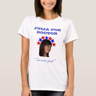 Julia para a camisa do doutor Campanha