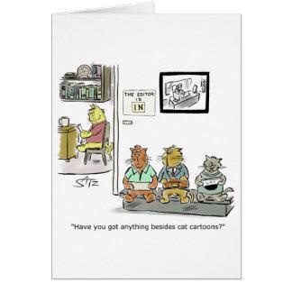 Julius engraçado Katz o cartão da graduação do