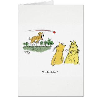 Julius engraçado Katz o cartão de aniversário do