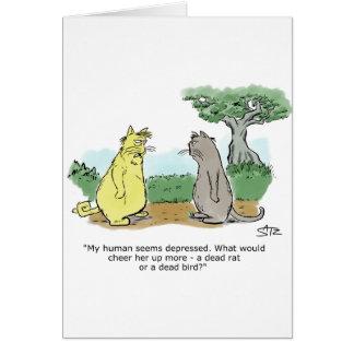 Julius engraçado Katz o cartão do aniversário do