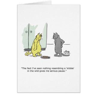 Julius engraçado Katz o cartão do gato