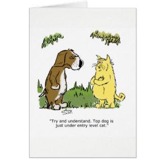 Julius Katz o cartão de aniversário do gato